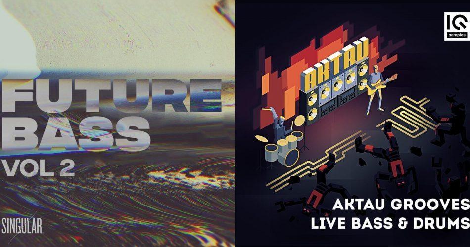 Splice Sounds Singular Future Bass 2 & AKTAU Grooves