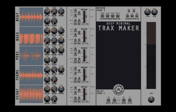 Spots & Cycles Deep Minimal Trax Maker
