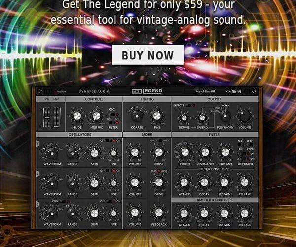 Synapse Audio The Legend Sale