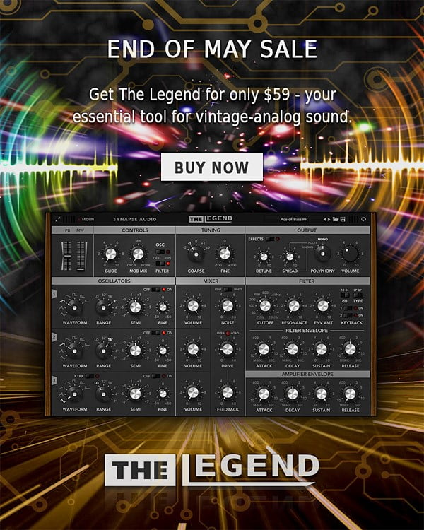 Synapse Audio The Legend Sale