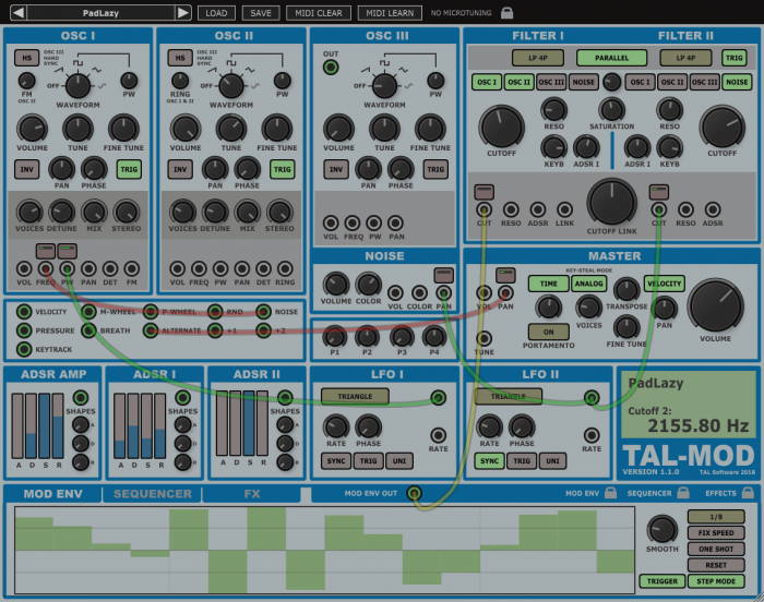 Togu Audio Line TAL Mod