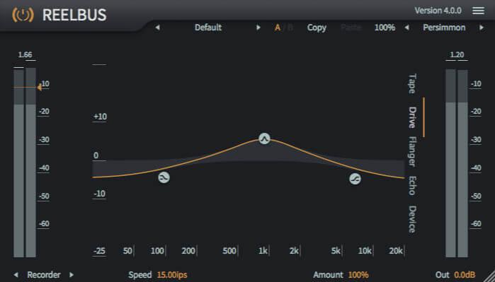 Toneboosters ReelBus 4 Drive EQ