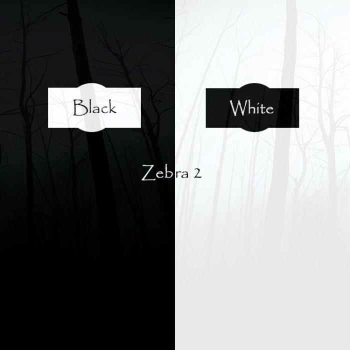 Triple Spiral Audio Black and White for Zebra 2