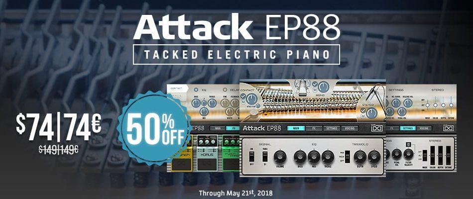 UVI Attack EP88 50 off