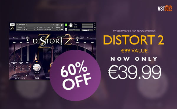 VST Buzz Strezov Sampling Distort 2 sale