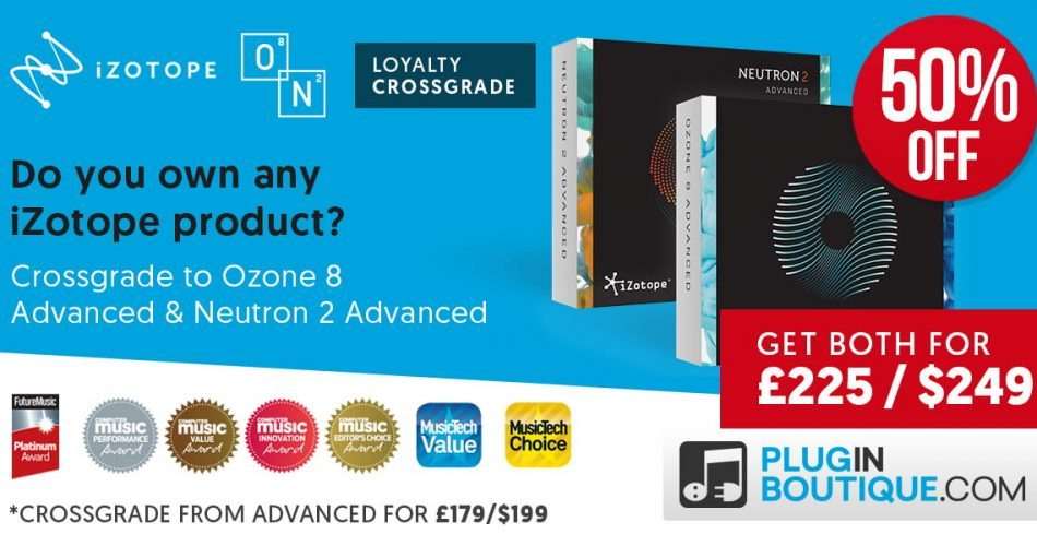 iZotope O8N2 Bundle Upgrade50 PluginBoutique