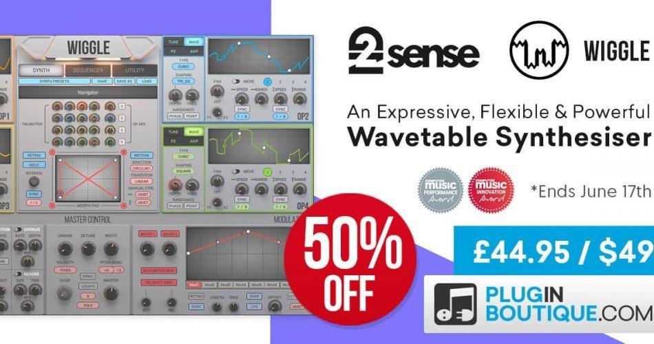 2nd Sense Audio Wiggle 50 OFF