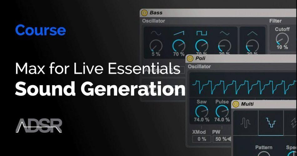 ADSR Sounds Max for Live Essentials Sound Generation