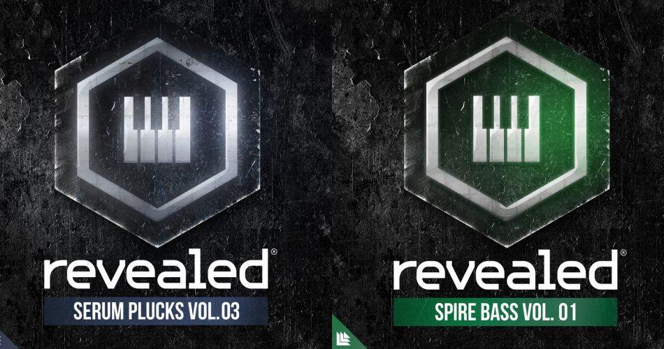 Alonso Sound Revealed Spire Bass Vol 1 & Serum Plucks Vol 3