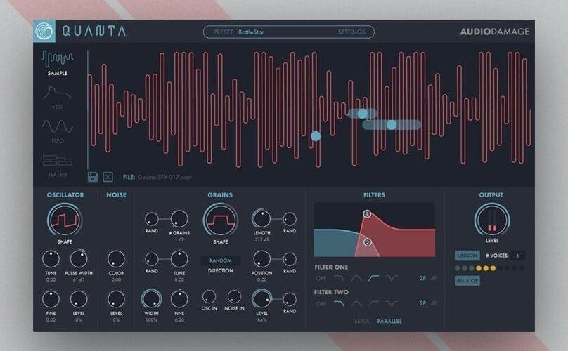 Audio Damage Quanta