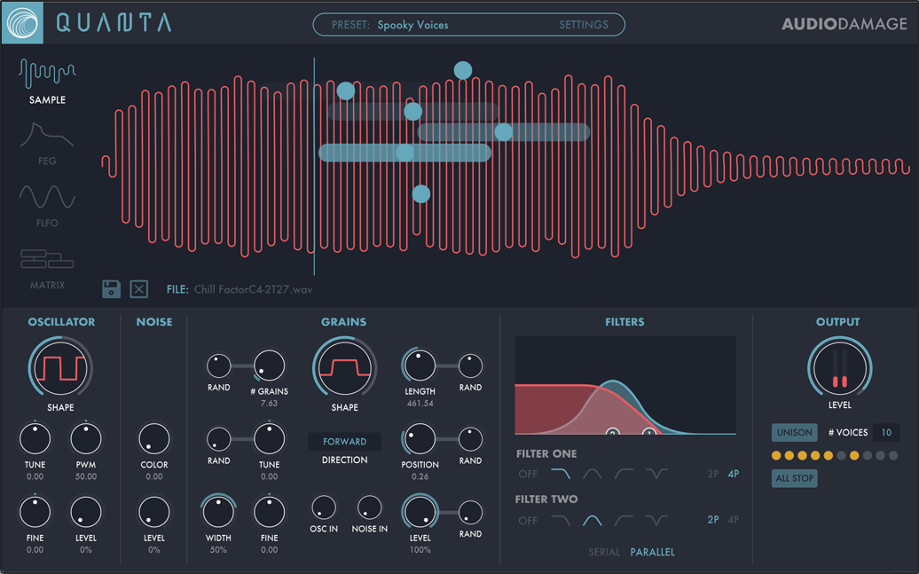 Get 35% off Audio Damage synths & audio effect plugins (incl. Quanta, Eos 2, Dubstation 2)