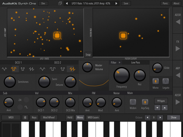 AudioKit Synth One 01