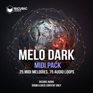 Bicubic Audio Melo Dark MIDI pack