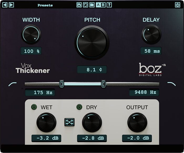 Boz Digital Labs Vocal Thickener