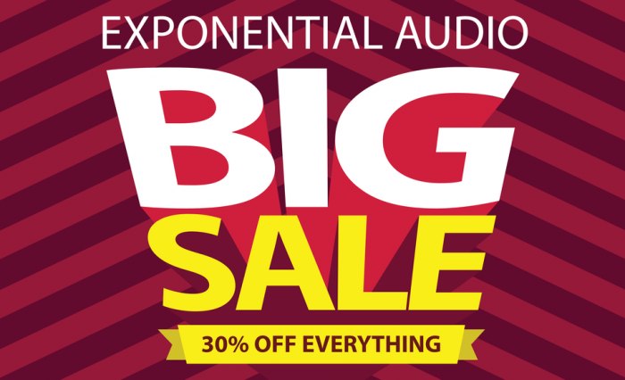Exponential Audio Big Sale