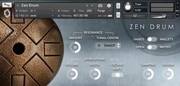 Fracture Sounds Zen Drum