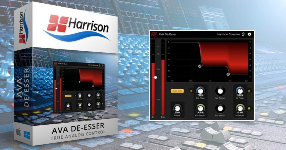 Harrison Consoles AVA De Esser