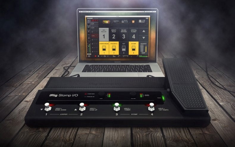 IK Multimedia Amplitube 4 iRig Stomp IO