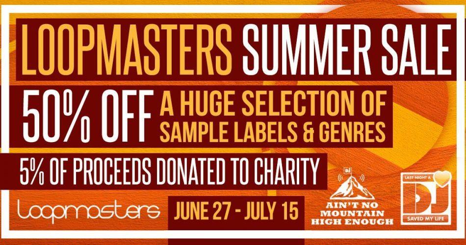Loopmasters Summer Sale 2018