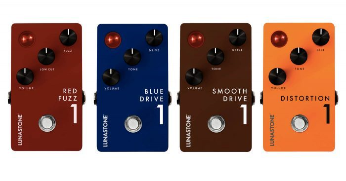 Lunastone Red Fuzz, Blue Drive, Smooth Drive & Distortion