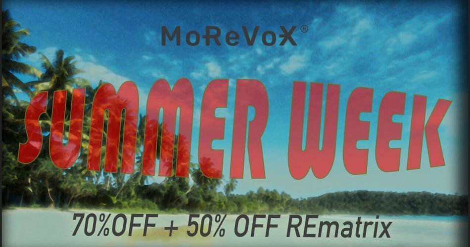 MoReVoX Summer Sale