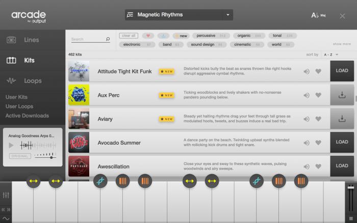 Output Arcade Browser Kits