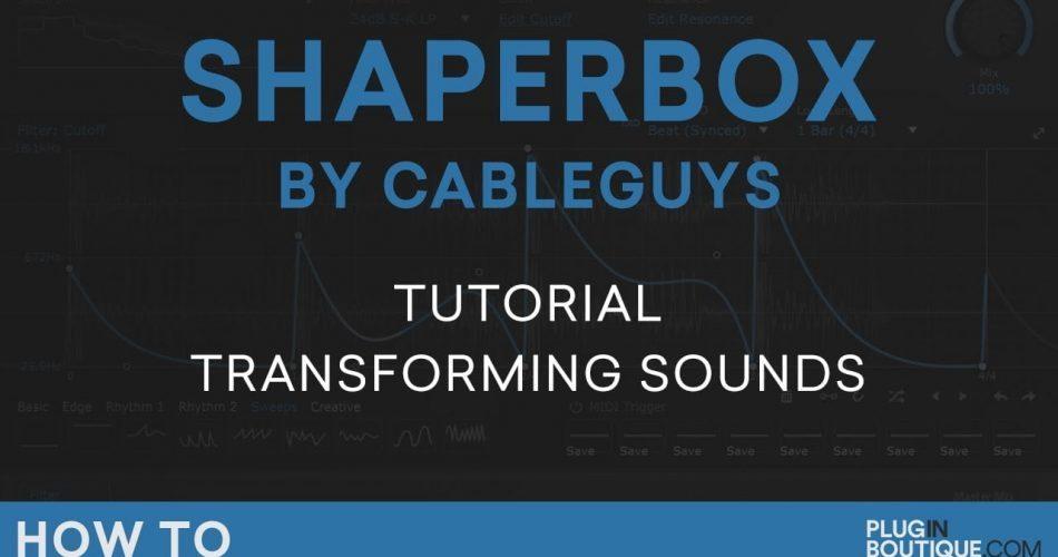 PIB Shaperbox tutorial video