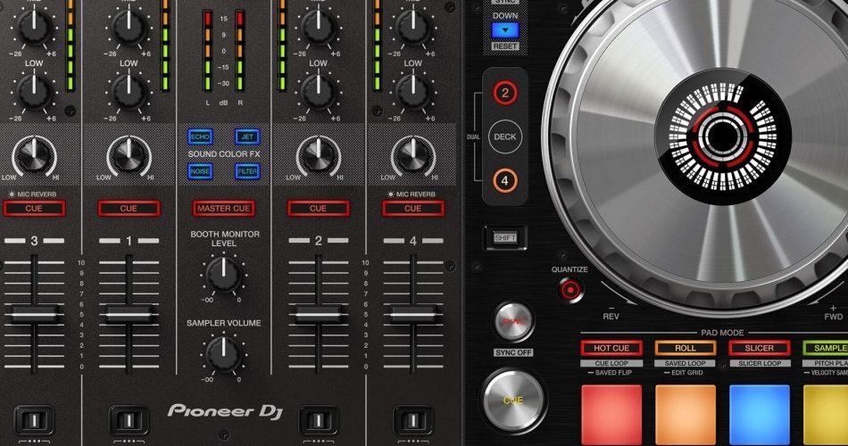 Pioneer DDJ SX3 feat