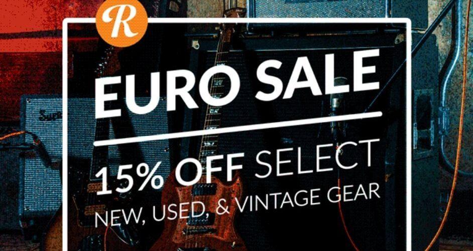 Reverb EU sale
