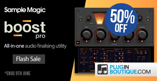 Sample Magic Boost Pro 50 off
