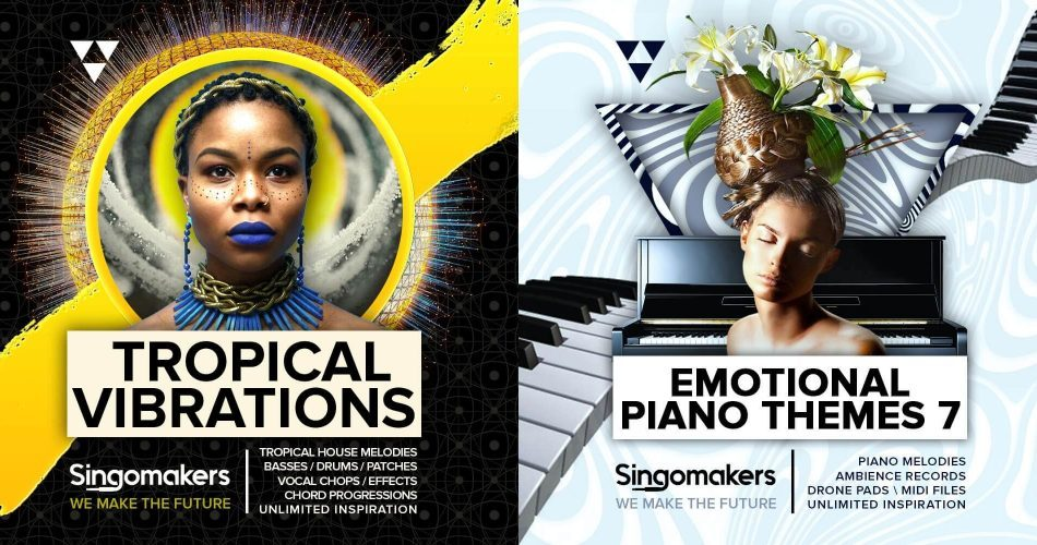 Singomakers Tropical Vibrations & Emotional Piano Themes 7