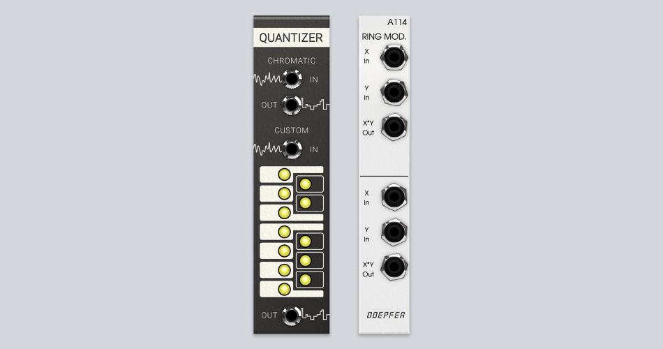 Softube Modular Quantizer & Doepfer A 114 Ring Modulator