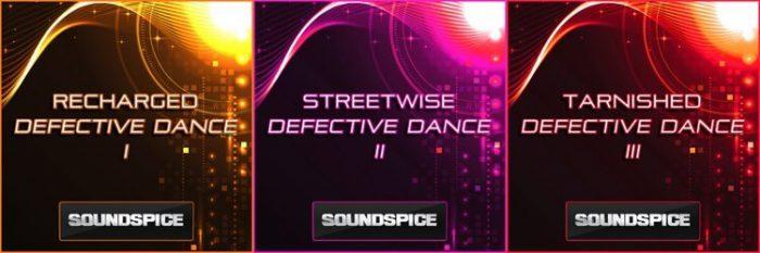 SoundSpice Defective Dance Trilogy