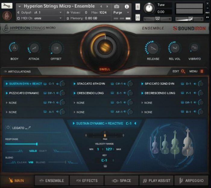 Soundiron Hyperion Strings Micro