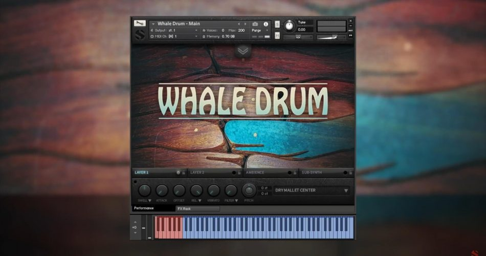 Soundiron Whale Drum 2 feat