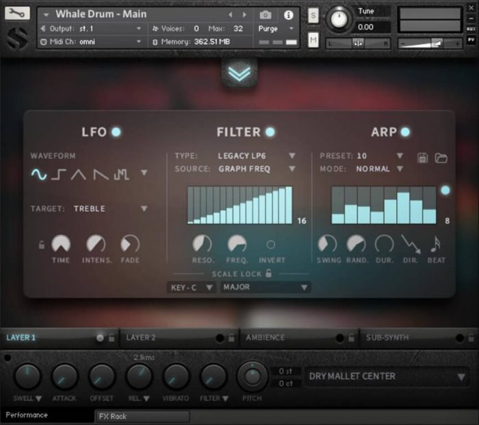 Soundiron Whale Drum 2 fx