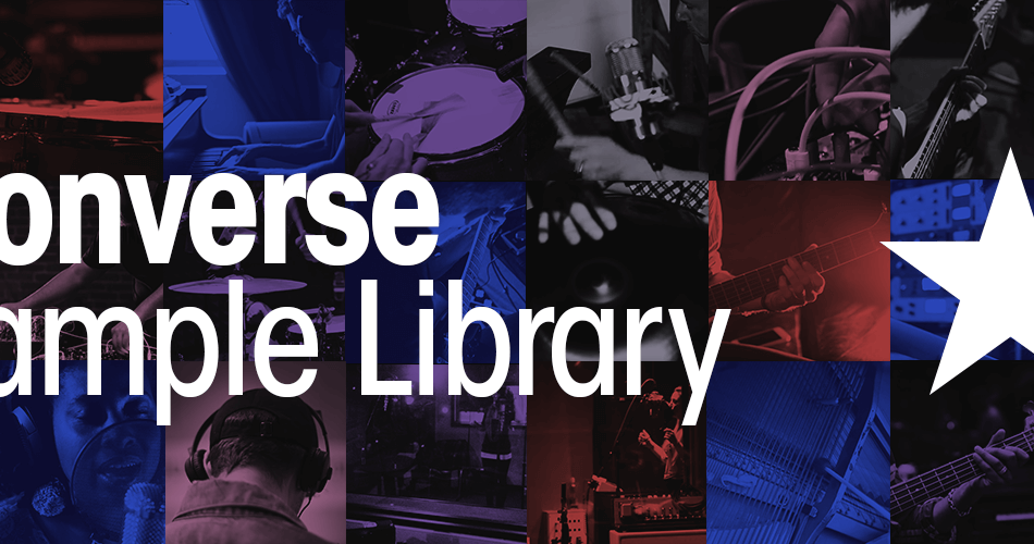 Splice Converse Sample Library