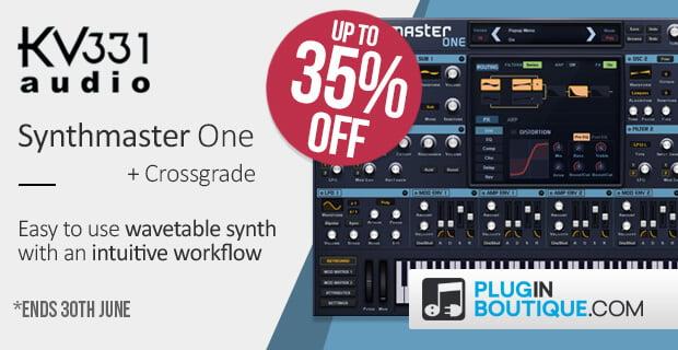 SynthmasterOne sale 35 off