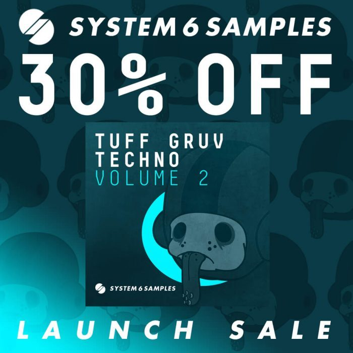 System 6 Samples Tuff Gruv Techno Vol 2 sale