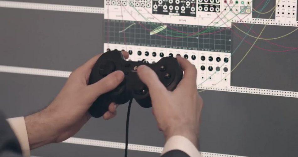 VCV Rack 061 Gamepad MIDI