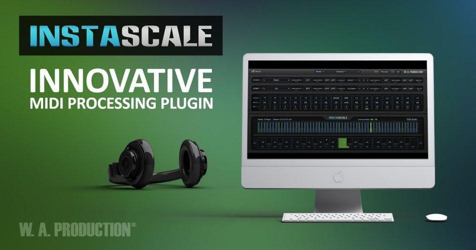 WA Production InstaScale MIDI processing plugin