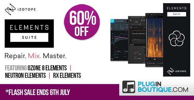 iZotope Elements Suite Flash Sale