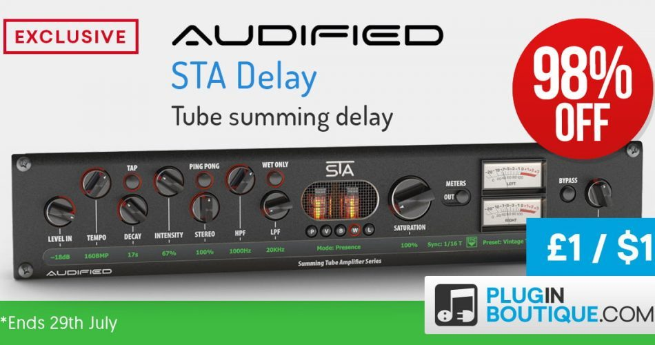 Audified STA Delay sale