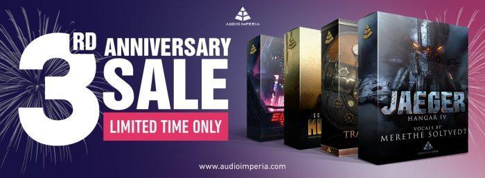 Audio Imperia 3rd Anniversary Sale