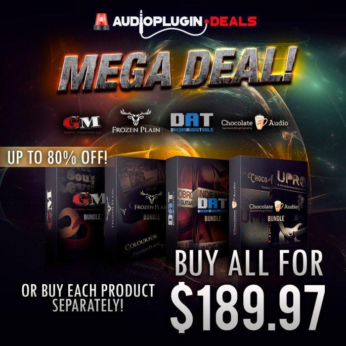 Audio Plugin Deals Mega Bundle