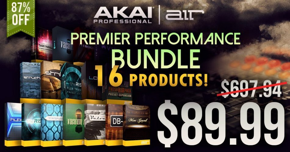 Audio Plugin Deals Premier Performance Bundle