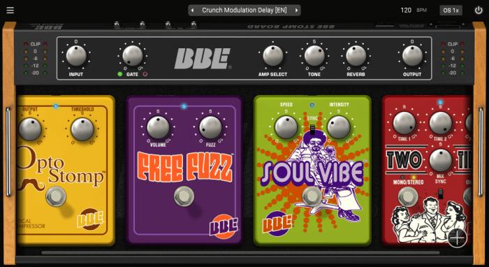BBE Sound Stomp Board