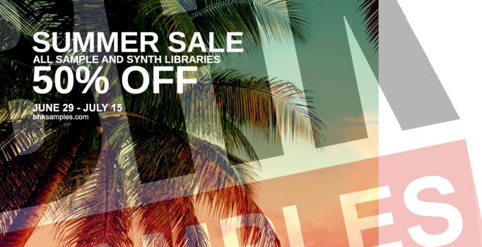 BHK Samples Summer Sale 2018