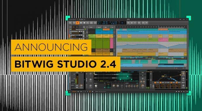 Bitwig Studio 2.4 announced