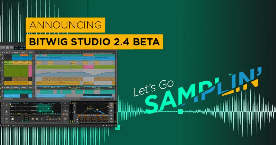 Bitwig Studio 2.4 beta